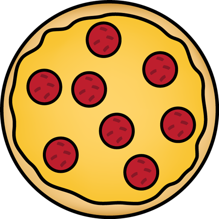 pizza clipart full pizza