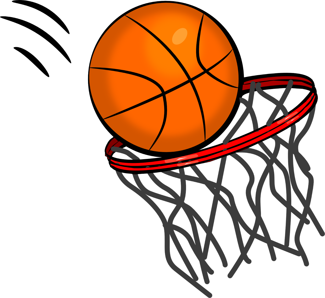 basketball hoop clipart clear background