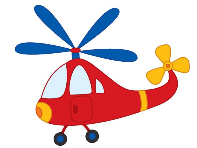 helicopter clipart easy