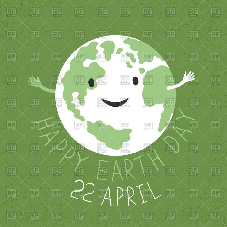 earth day clipart poster