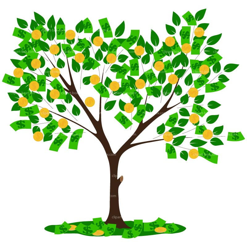 free tree clipart clear background