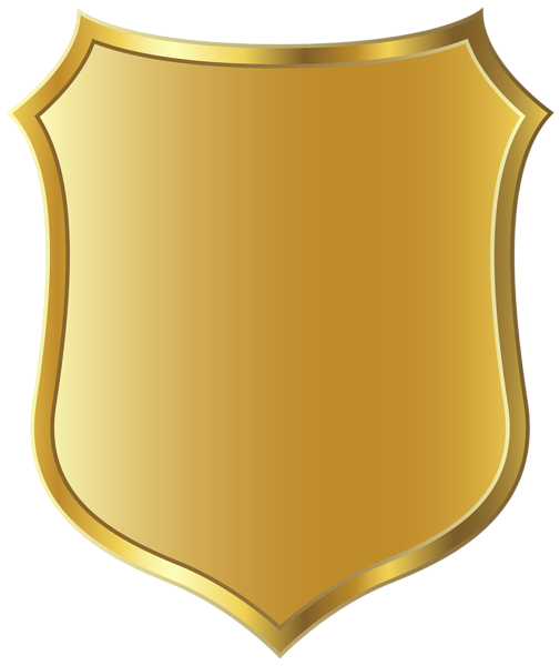 shield clipart gold