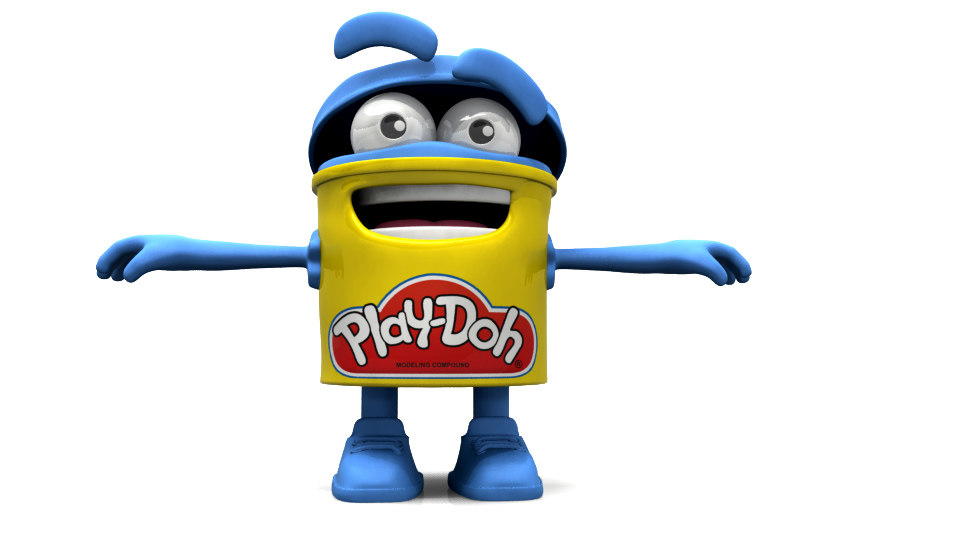 Play doh clipart character.