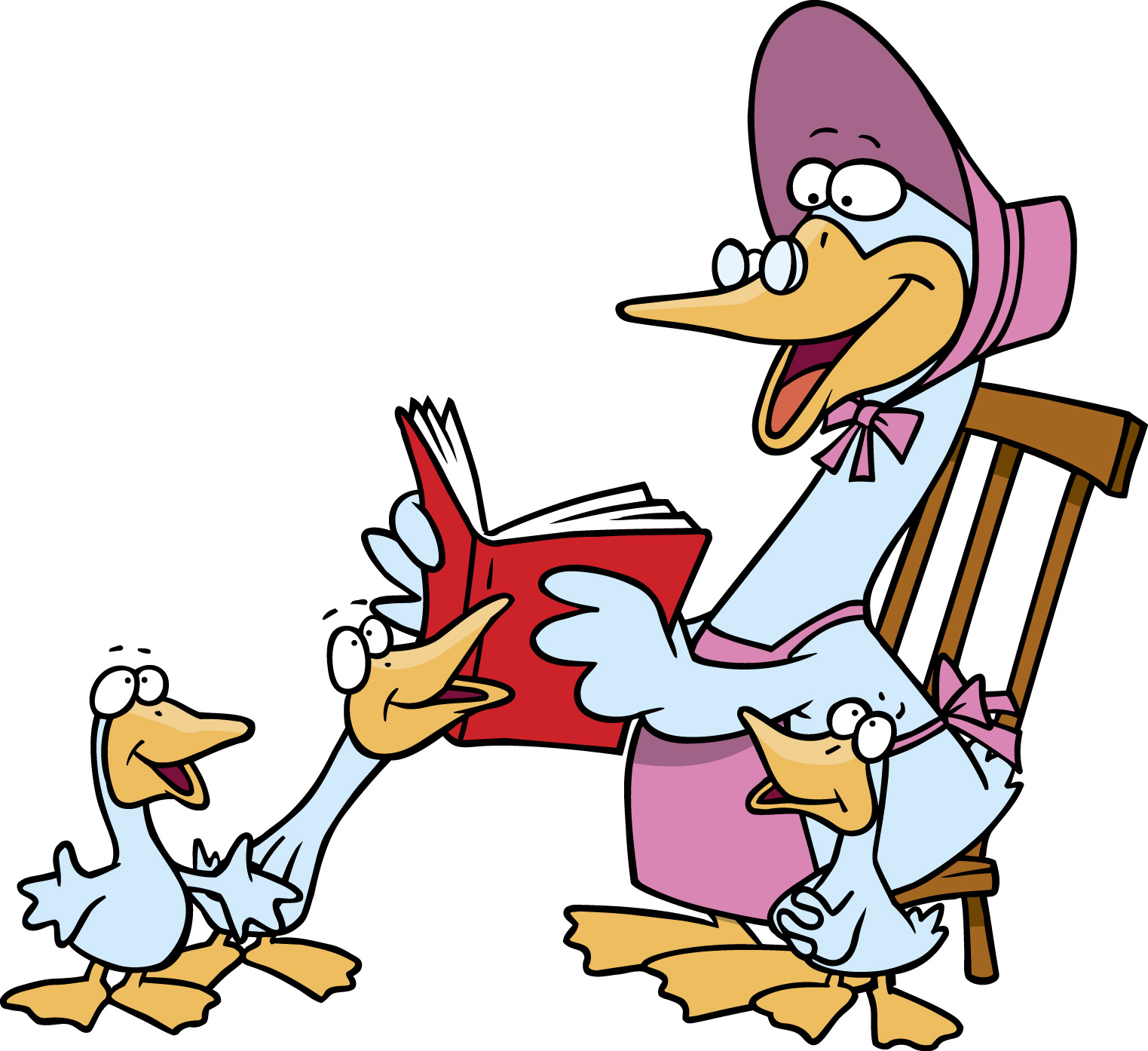 goose clipart mother