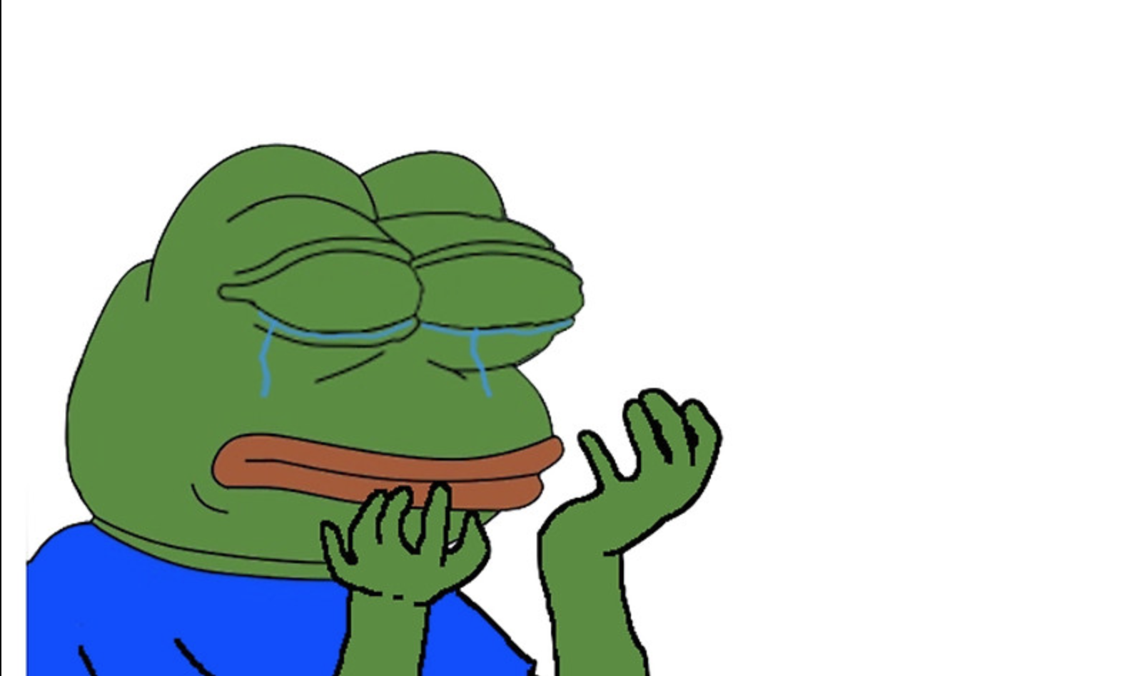 pepehands clipart
