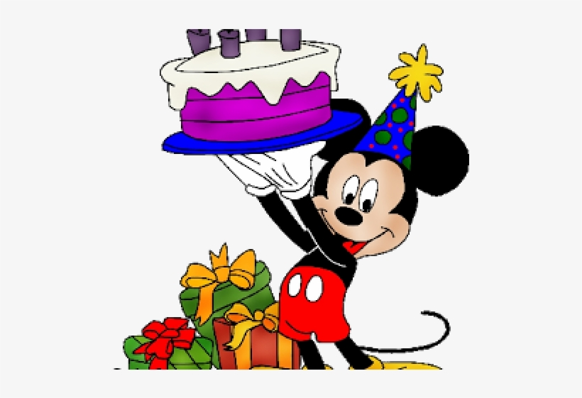 mickey mouse clipart birthday
