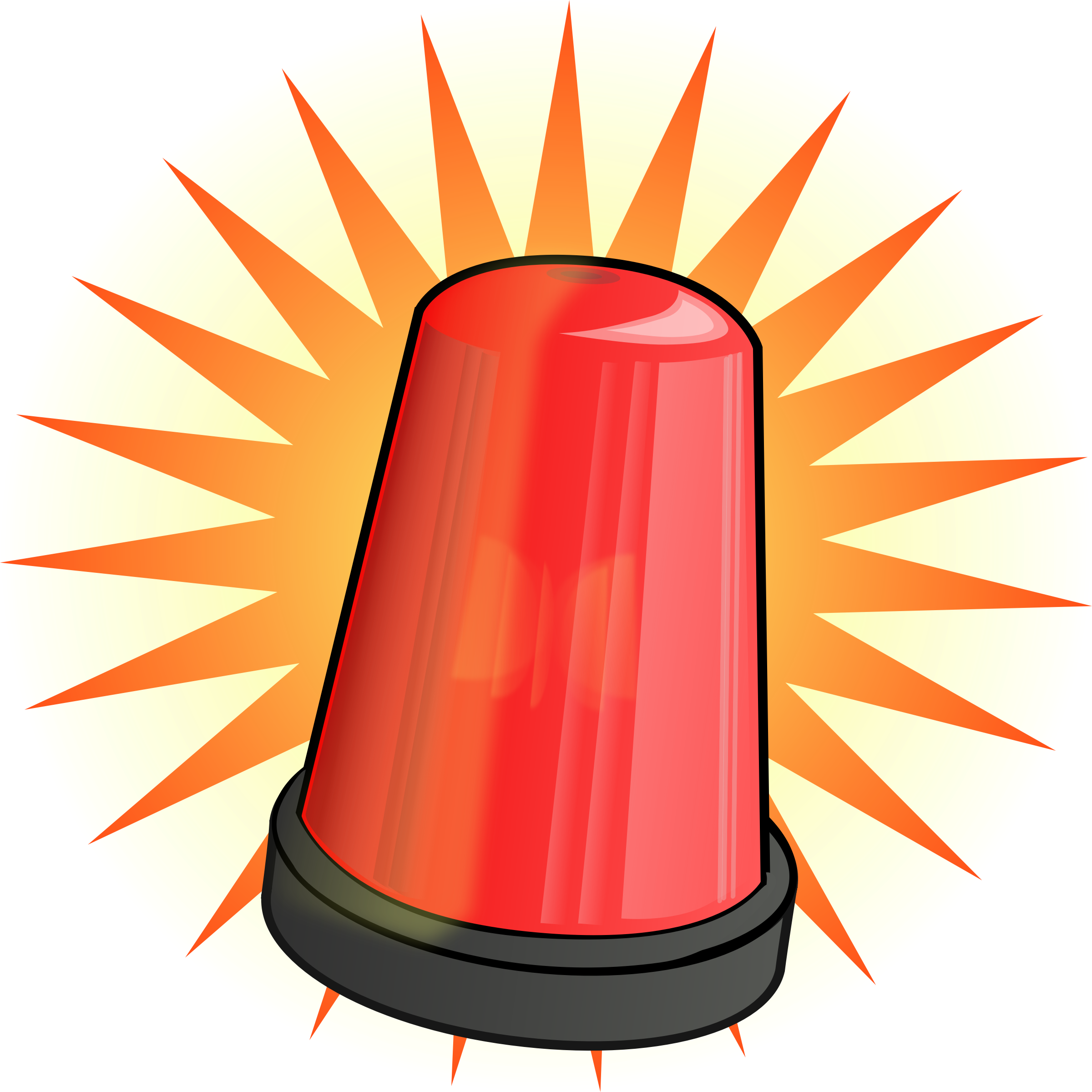 lighting clipart red