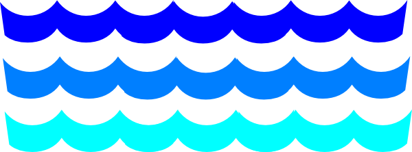 wave clipart water