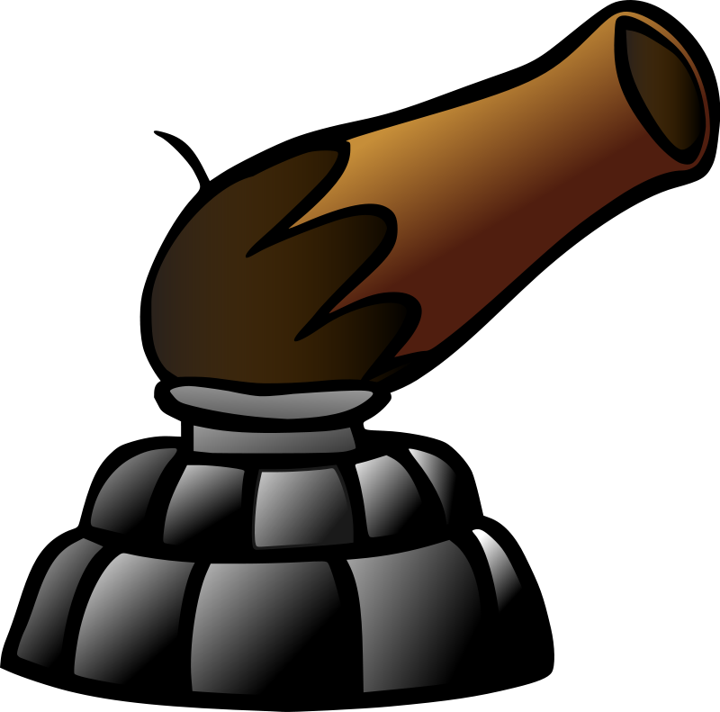 cannon clipart animated