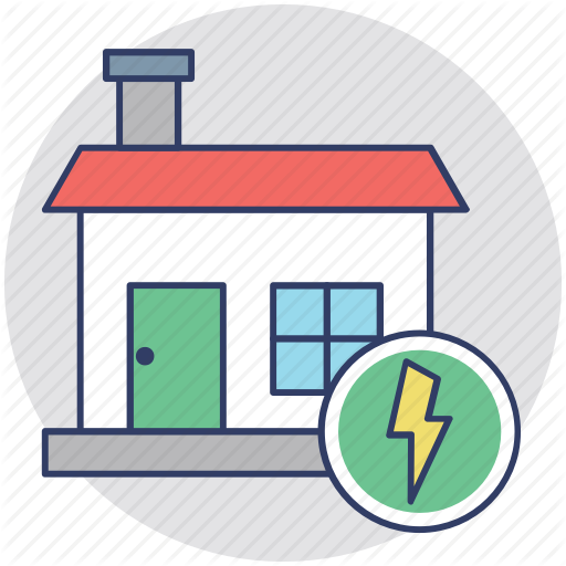 electricity clipart home