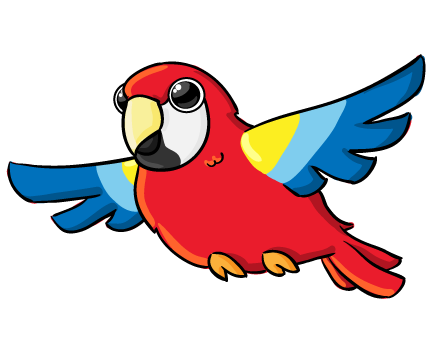parrot clipart baby