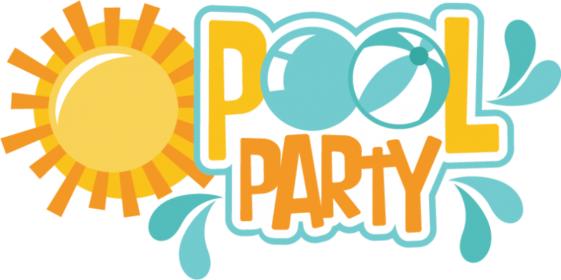 pool party clipart swimming