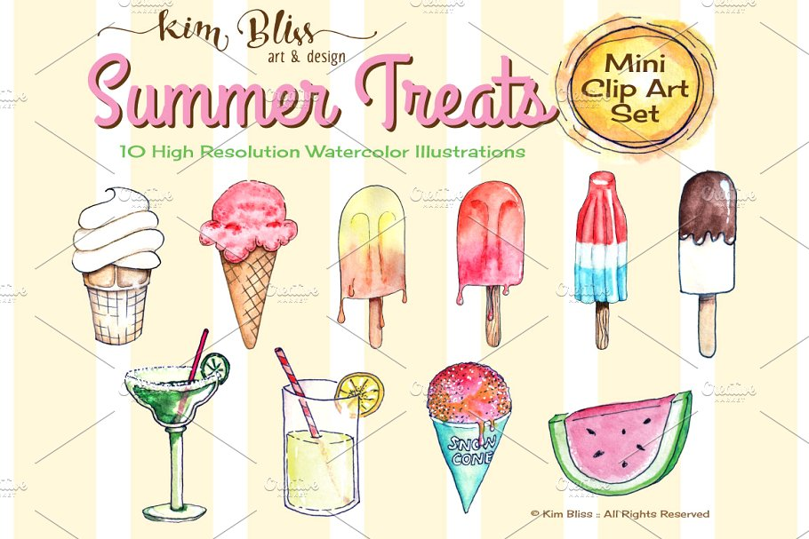 Popsicle clipart summer treat.