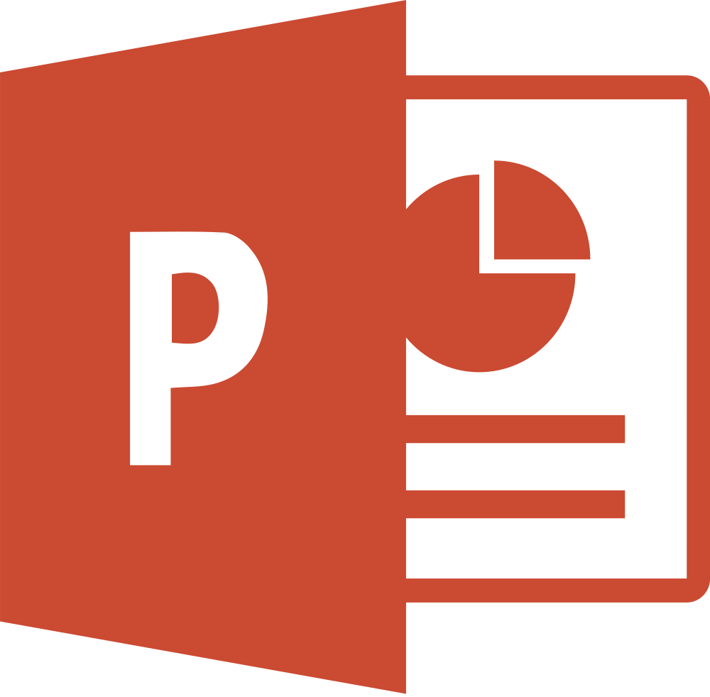 powerpoint clipart icon