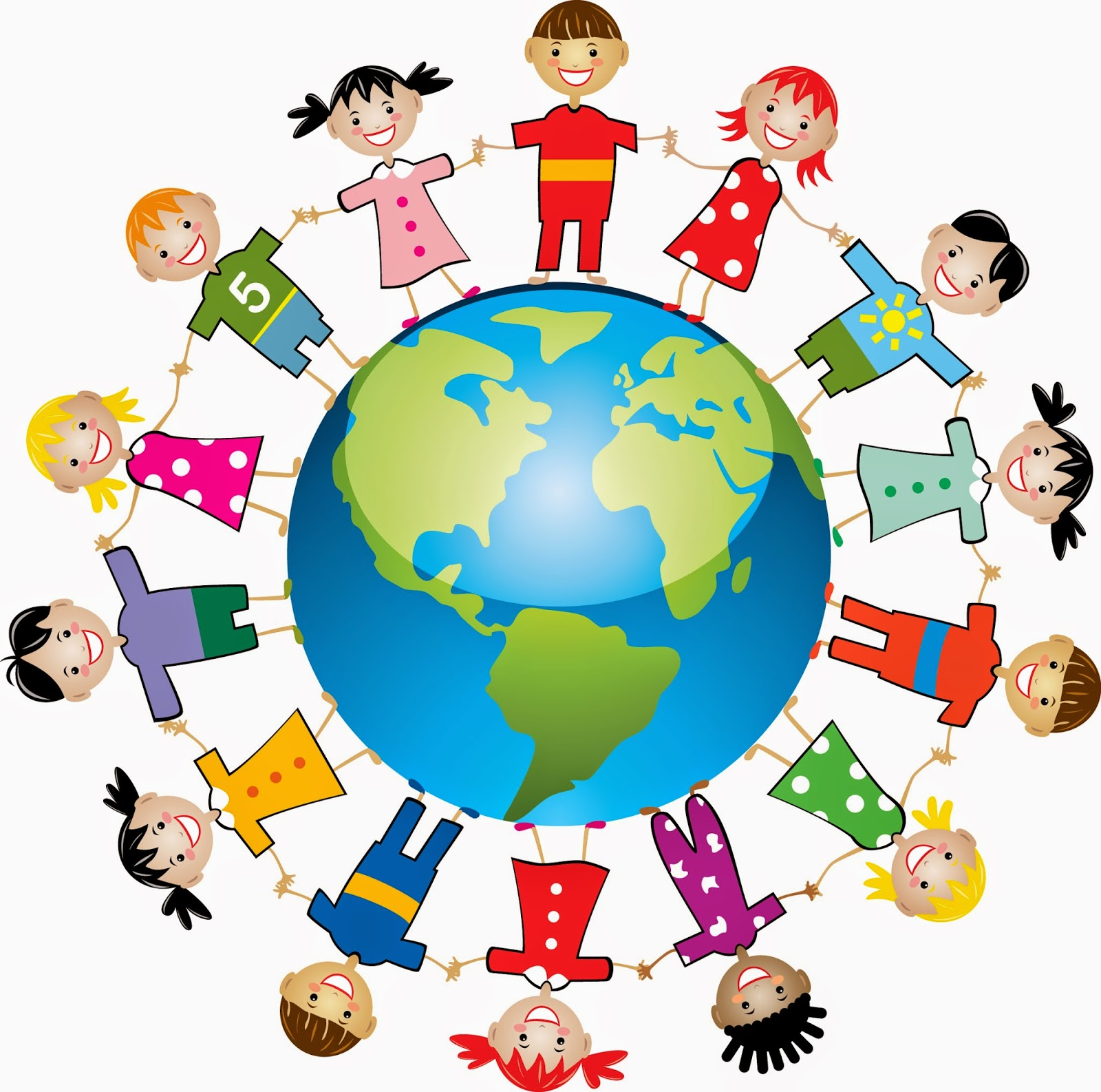earth day clipart kids