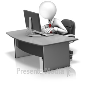 Powerpoint clipart office worker.