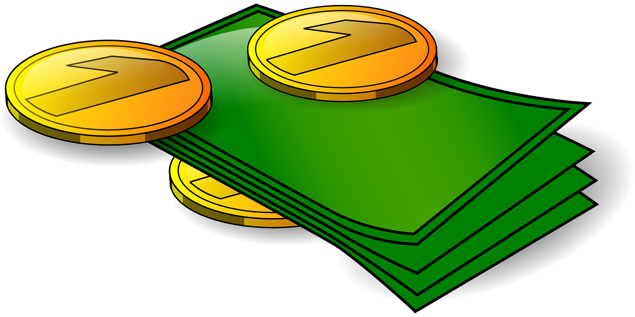 money clipart animated