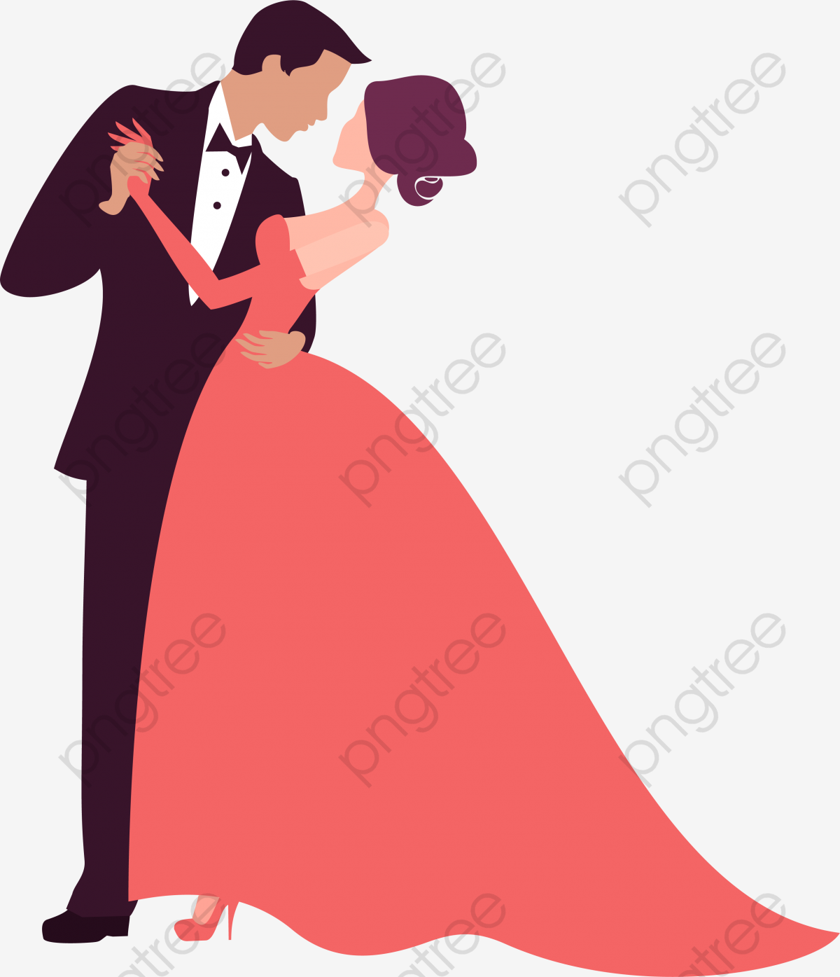 Prom clipart fashion couple.