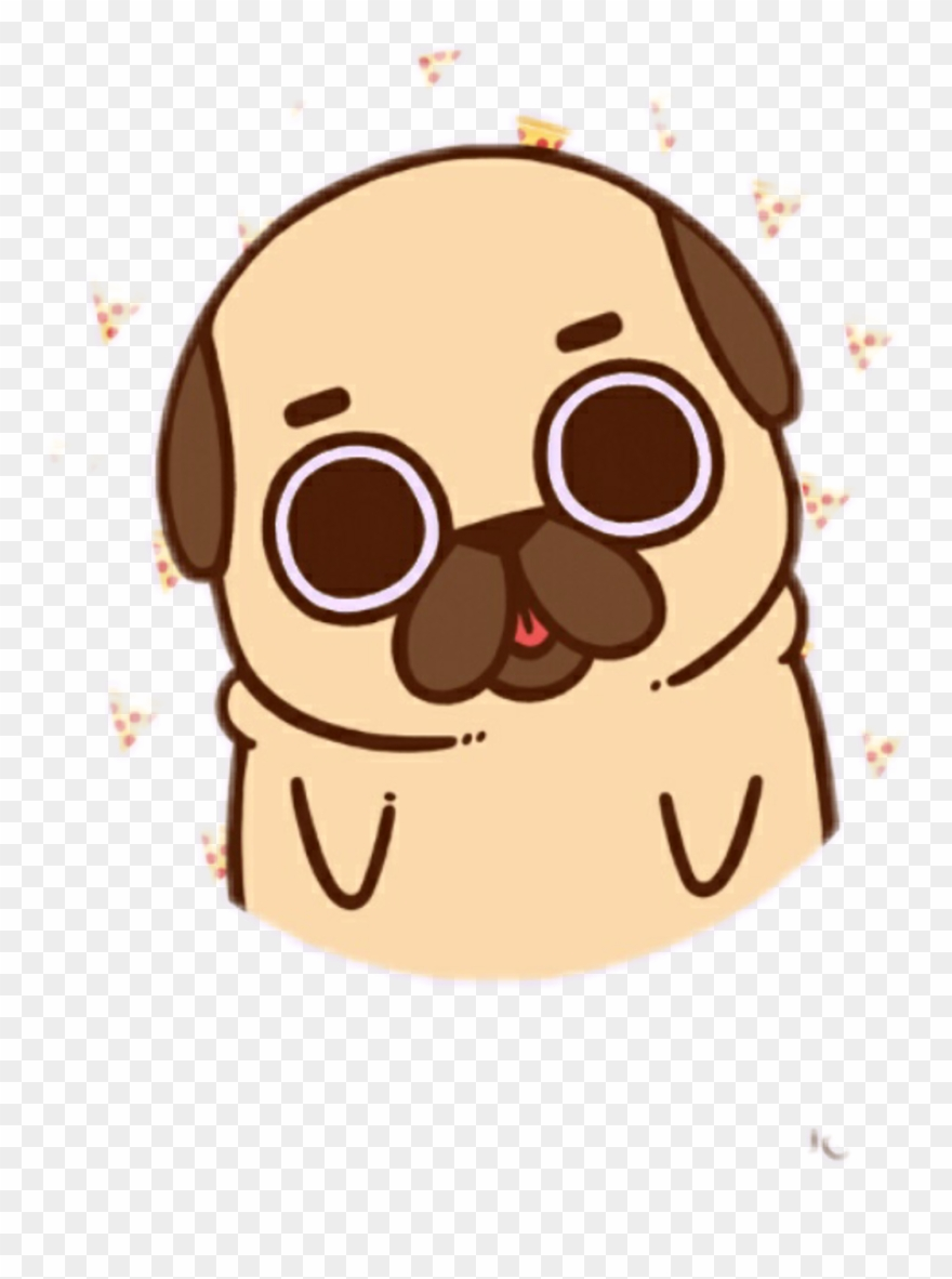 pug clipart drawing