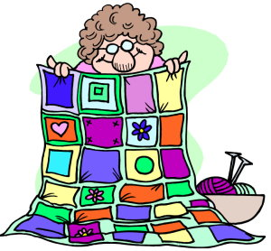 Quilter clipart quilting.