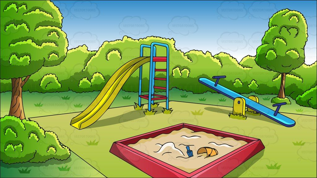 playground clipart vector