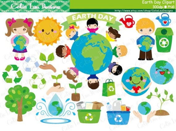 Earth day clipart environment.
