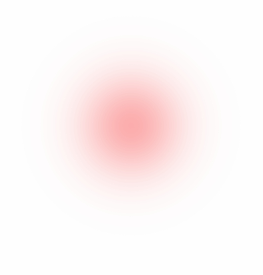 red glow clipart circle