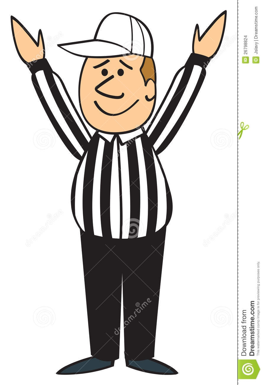 referee clipart soccer
