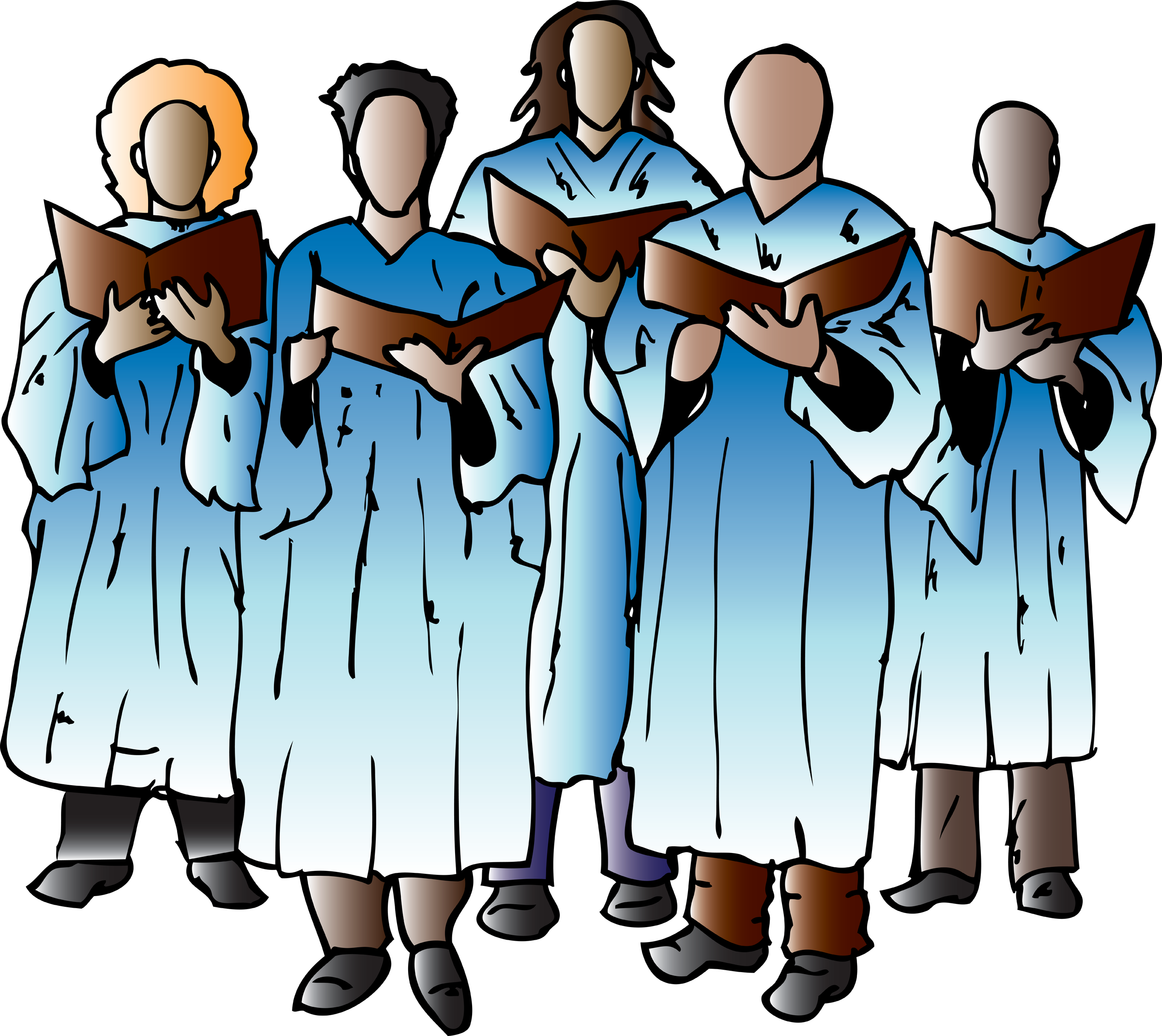 mennonites clipart church choir