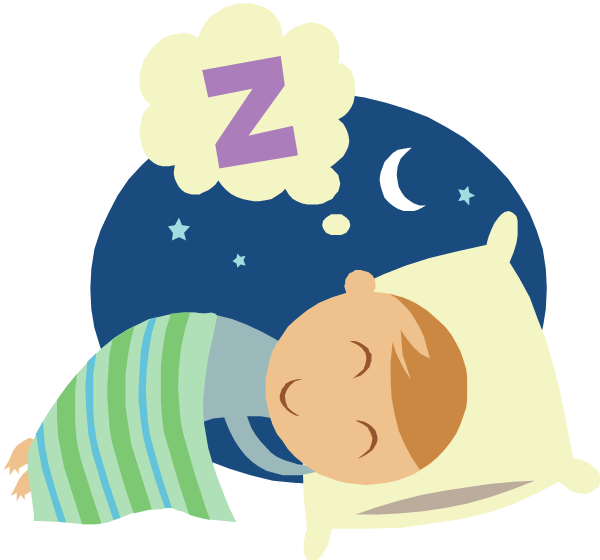 Sleeping clipart transparent background.