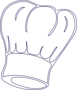 chef hat clipart silhouette