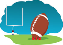 fottbal clipart american football
