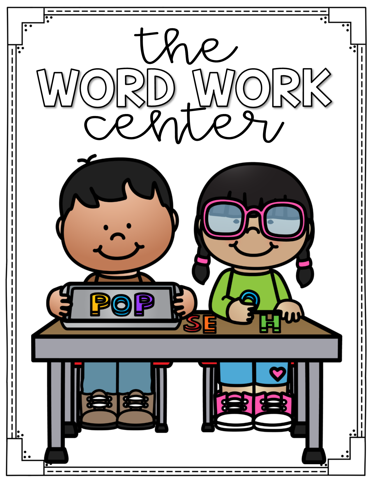 word work clipart
