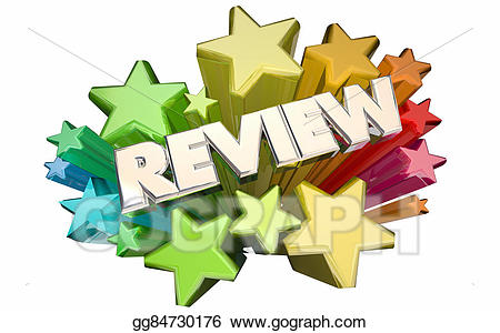 review clipart word