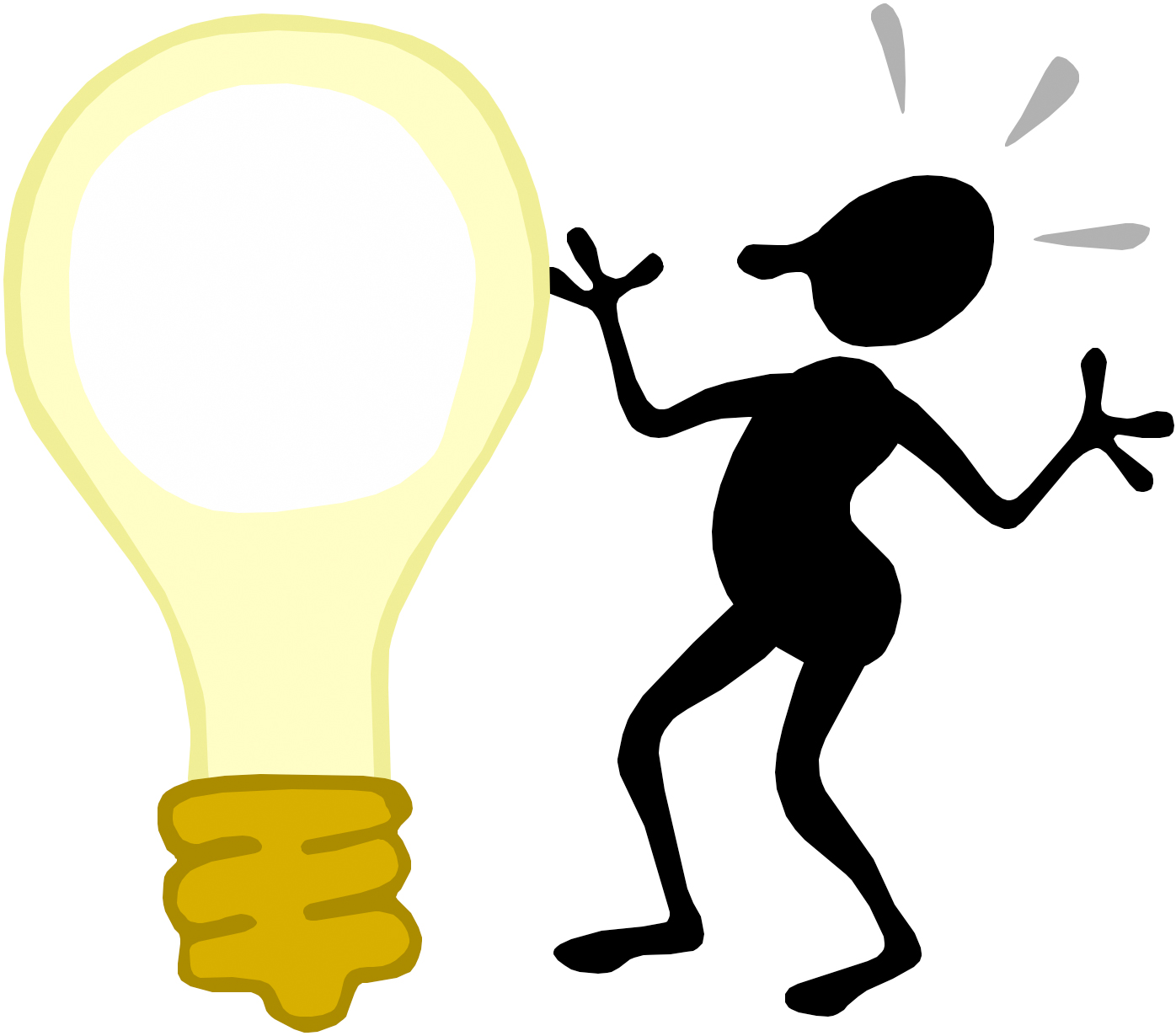 energy clipart person