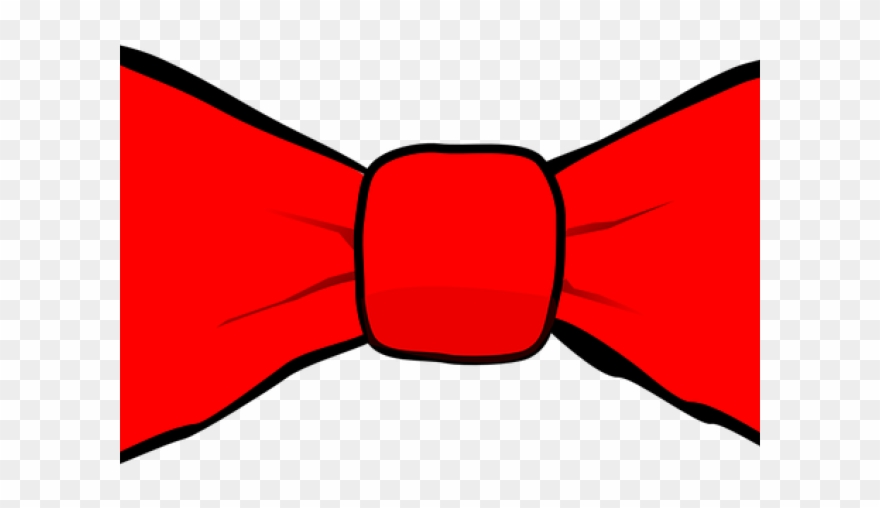 bow tie clipart red