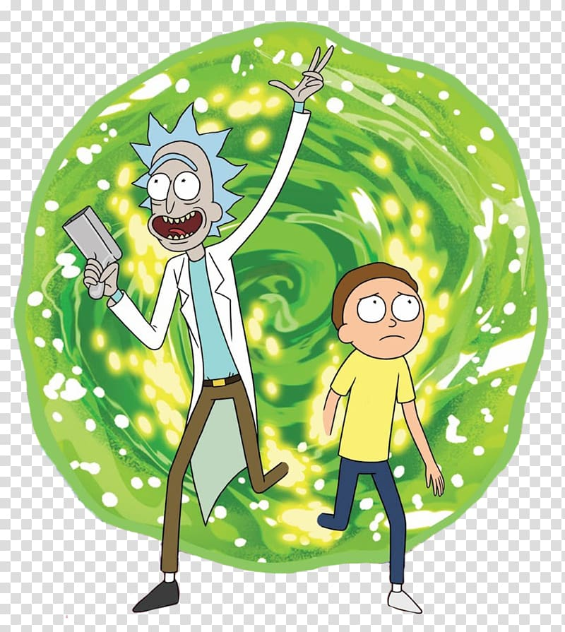 rick and morty portal clipart