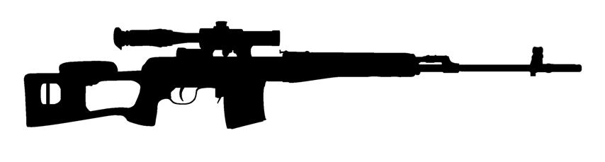 sniper scope clipart paintball