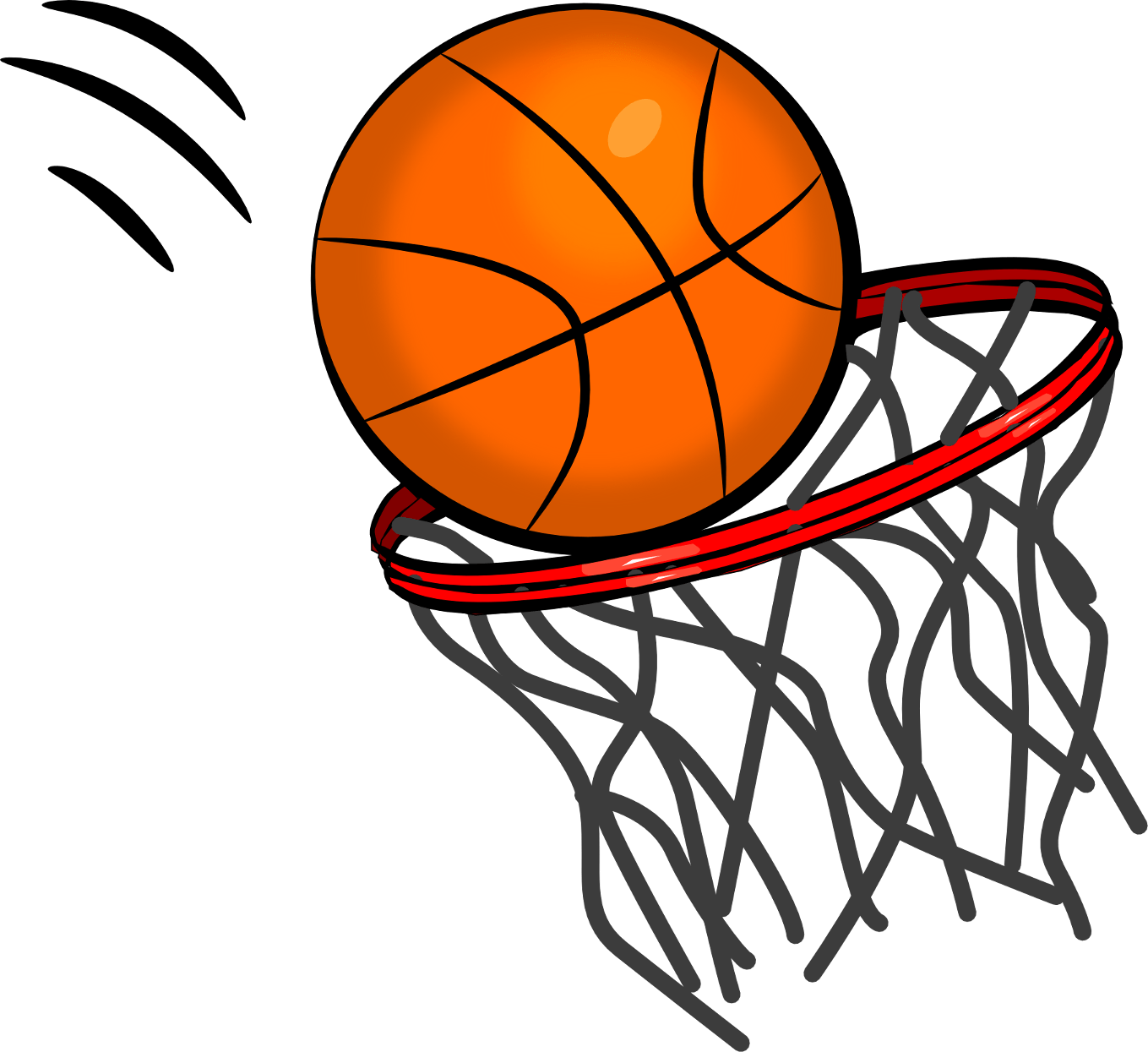 ring clipart basketball