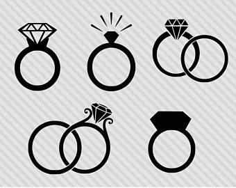Engagement clipart ring wedding.