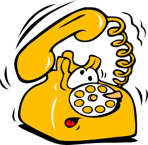 lphone clipart animated