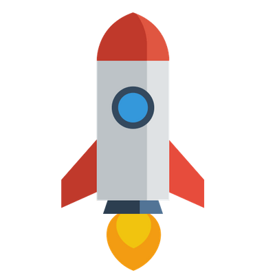 Rocket clipart clear background.