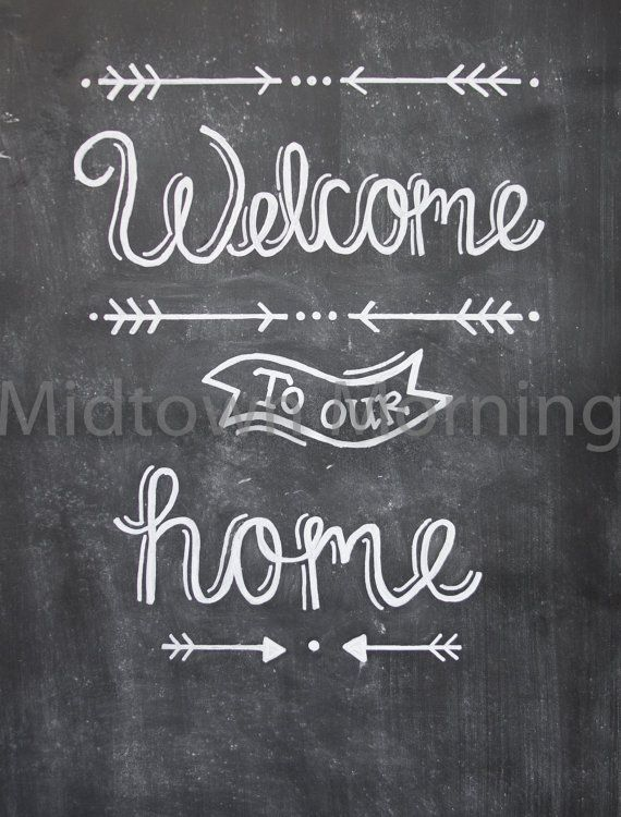 welcome back clipart chalkboard
