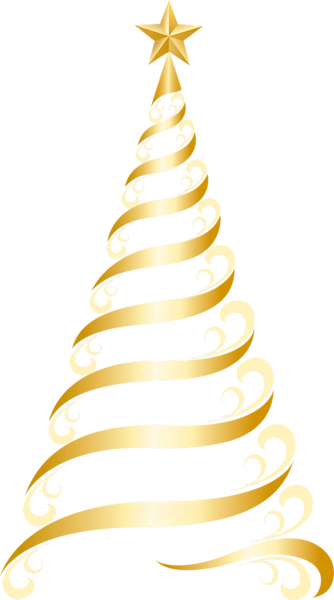 holiday clipart gold