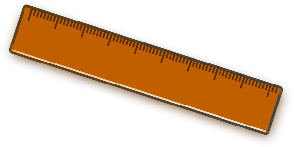 Ruler clipart scale.