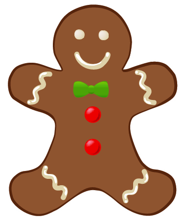 gingerbread clipart template