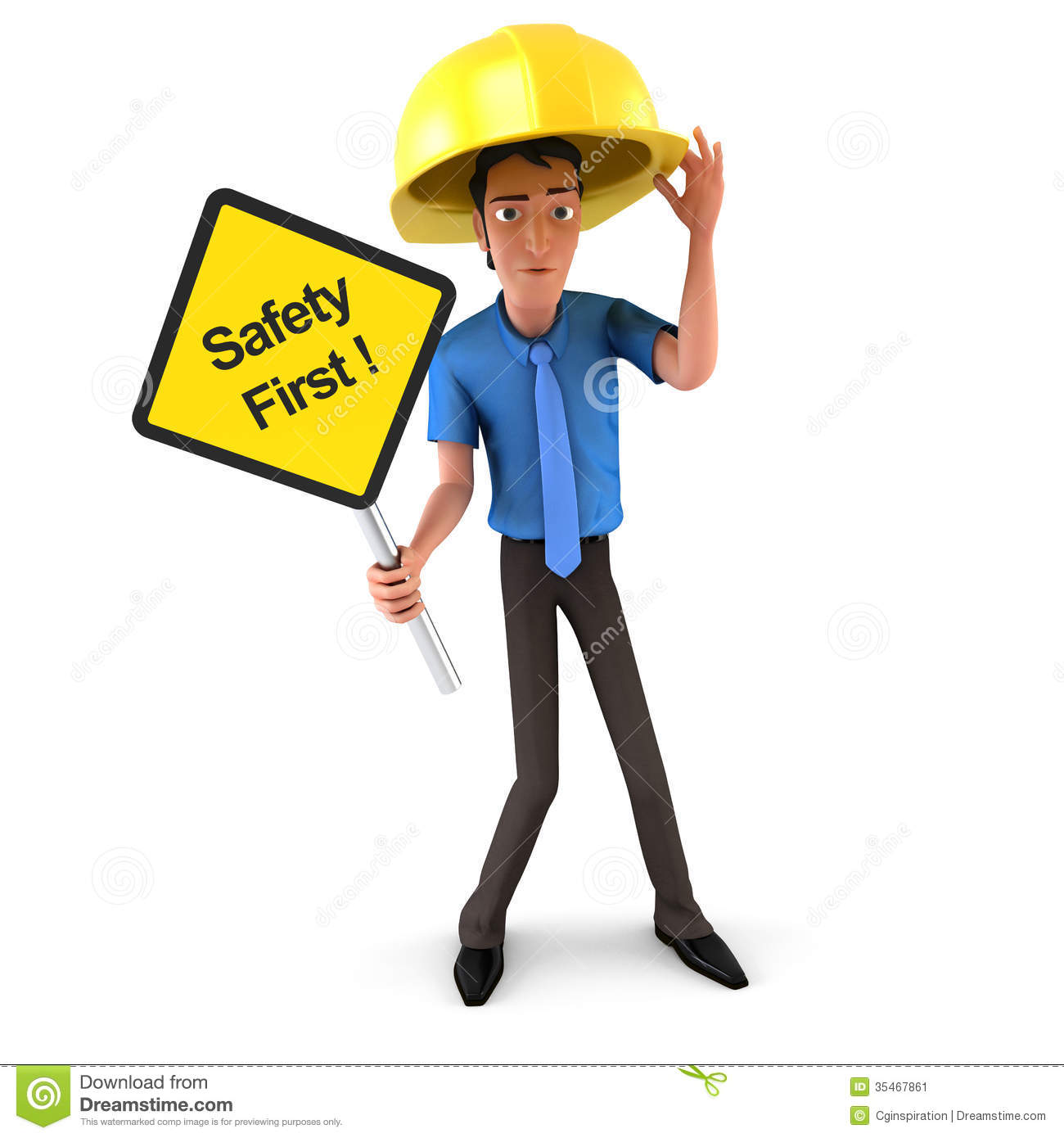 Safety clipart kid.
