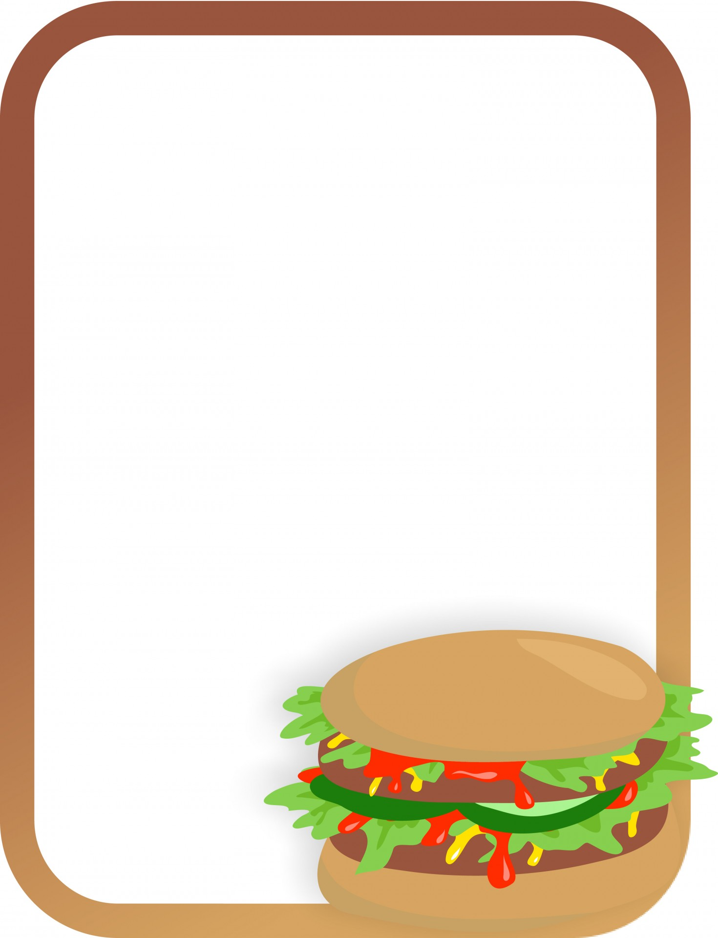 Borders clipart hddfhm.