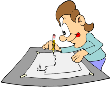 draw clipart student drawing