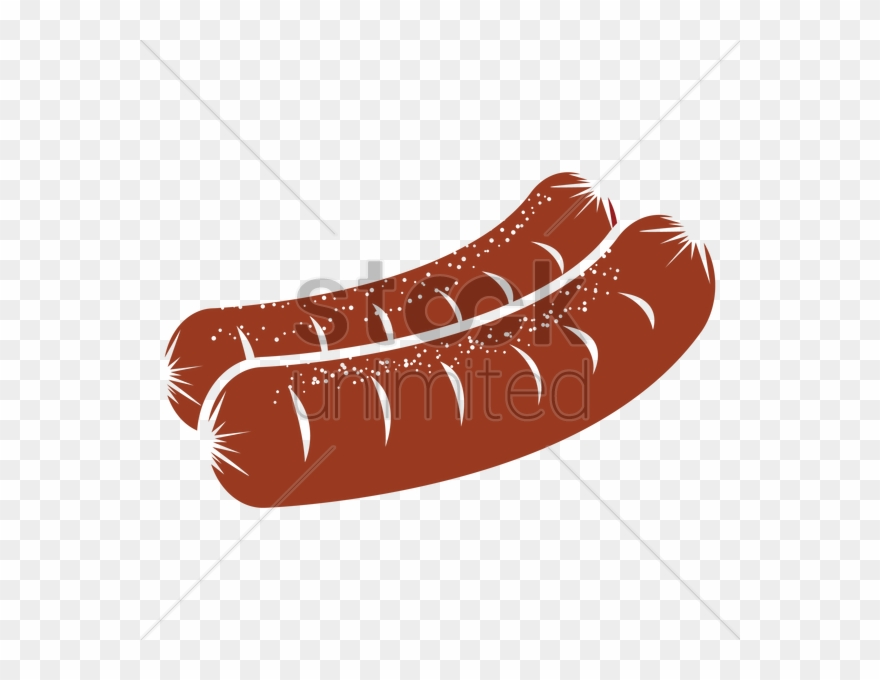 sausage clipart vector